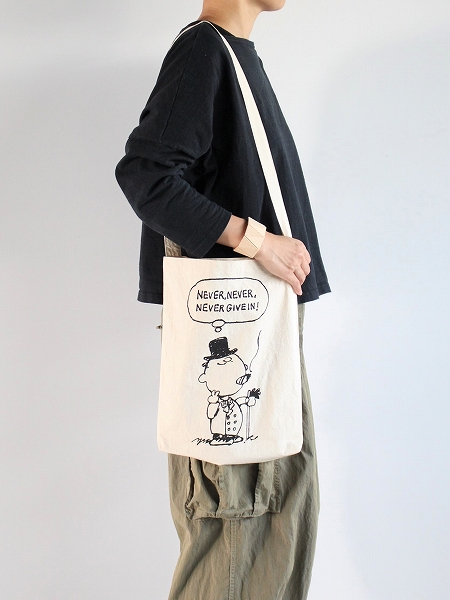 OLDMAN'S TAILOR PRINT ONE SHOULDER BAG