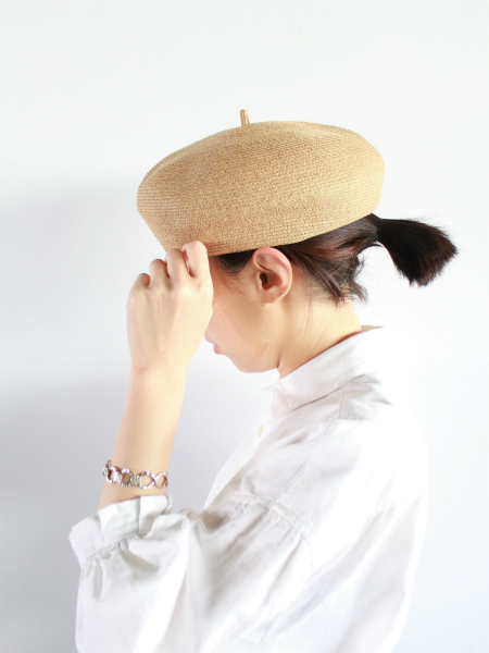 R&D.M.Co- BRAID BERET