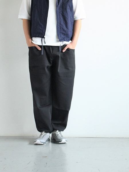South2 West8 (S2W8) String Cuff Easy Pant - Pe/C Dobby Stripe