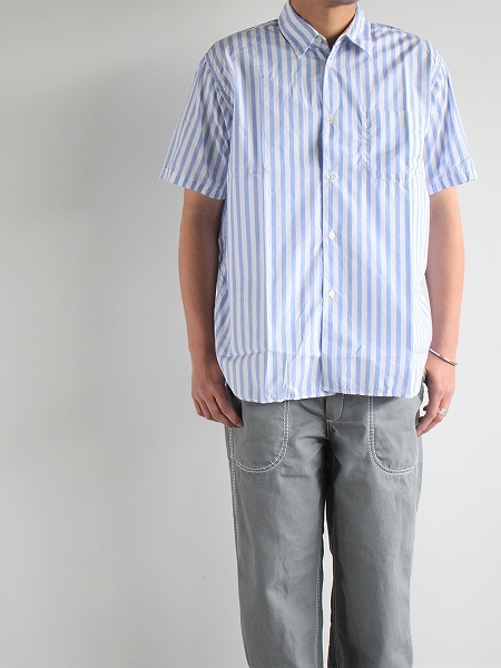 Sans limite BOX REGULAR COLLAR S/S SHIRT