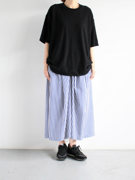 unfil cotton nep jersey oversized Tee