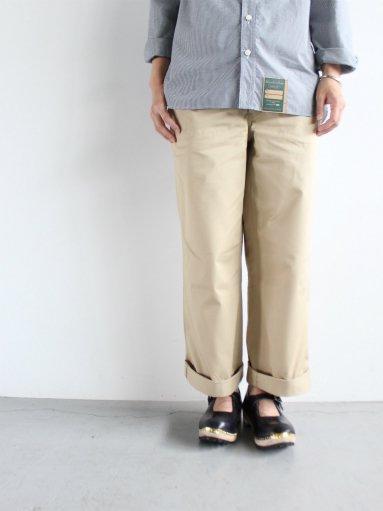 R&D.M.Co- CHINO CLOTH PANTS (LADIES)