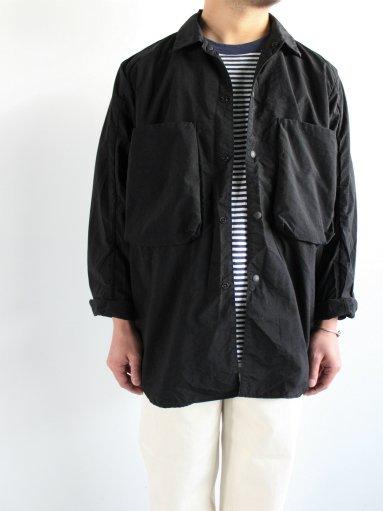 blurhms Nylon Utility Shirt Jacket (MENS)