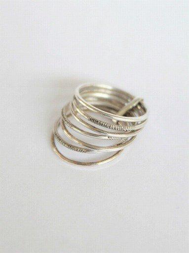Touareg Silver Ring 10 / Silver 100% (MENS & LADIES)