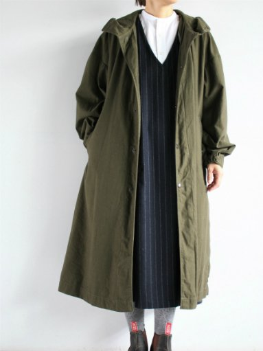 Ordinary fits HOODIE COAT / Khaki  (LADIES)