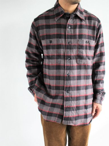 South2 West8 Work Shirt - Cotton Twill / Plaid (MENS)