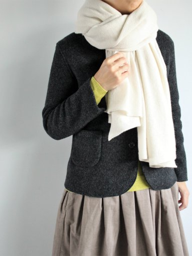 JOHNSTONS OF ELGIN CASHMERE KNITTED STOLE