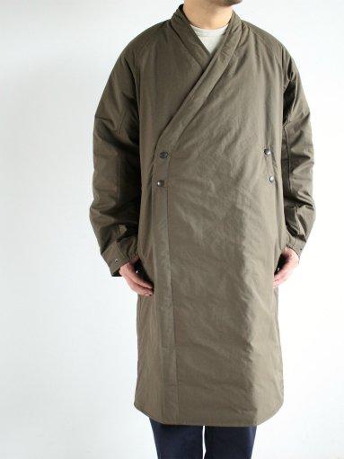 NEEDLES Down Samue Coat - Poly Ripstop / khaki (MENS & LADIES)