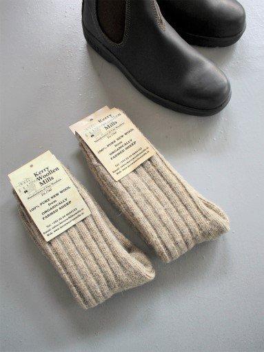 Kerry Woolen Mills Wool Socks - L.gray (MENS & LADIES)