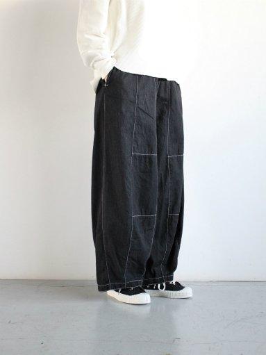 NEEDLES H.D Pant - 6oz Denim / Black (LADIES)