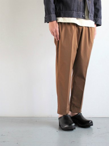 FLISTFIA Cropped Trousers / Brown (MENS & LADIES)