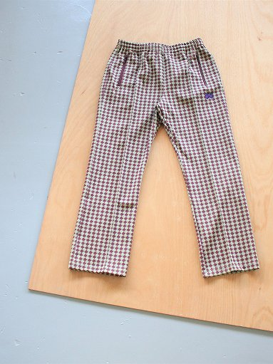 NEEDLES Track Pant - Poly Jacquard / Houndstooth (MENS & LADIES)