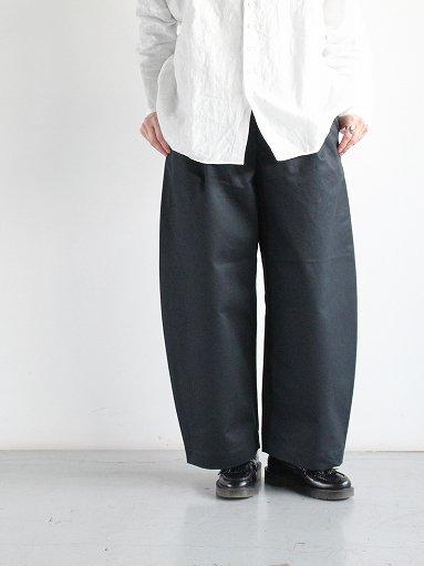 ASEEDONCLOUD HW wide trousers / charcoal (LADIES)