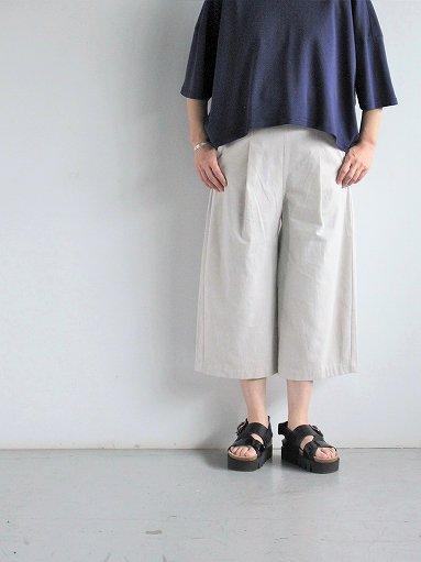 THE HINOKI Cotton Bafu OSFA Wide Half Pants / Oatmeal (LADIES)