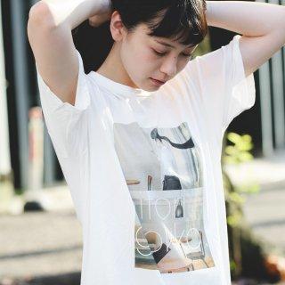 「ひとりごっこ」Tシャツ(2)