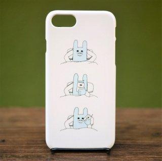 或るオスウサギ iPhoneケース