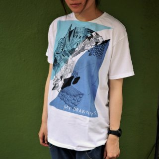 「MY DRAWINGS」Tシャツ