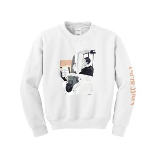 「IMPRESSION」Sweat (White)