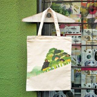 「ブロッコリーの森」トートバッグ