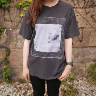 「Tras4」ピグメント加工Tシャツ<A:ブラック>