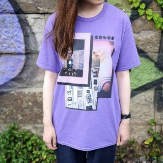 「COLOR」T-Shirts(ヘザーパープル)