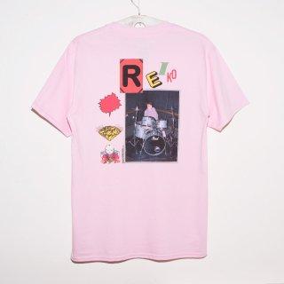 「REIKO」Tシャツ<B:ライトピンク>