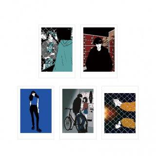 「TOKYO SHIBUYA STREET」ポストカードセット(5枚入り)