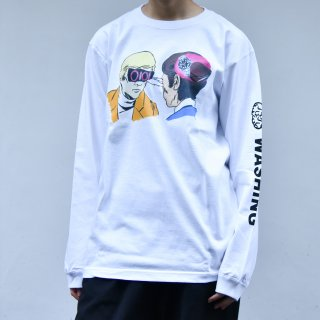 「Brain Washing」Long-Sleeve T