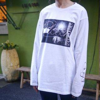 「Closer」ロングTシャツ<A:White>