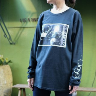 「Closer」Long-Sleeve T<A・Black>