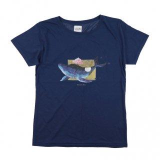 「トビダスユメ」Tシャツ<ネイビー>