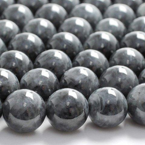 ブラックジェード(黒翡翠)3A-6mm〜10mm