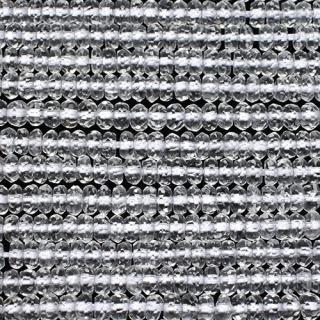水晶(クォーツ)ボタンカット4A-2x4mm