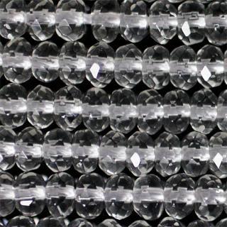 水晶(クォーツ)ボタンカット4A-3x5mm