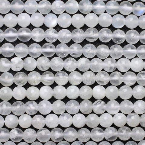 ホワイトアンデシン2A-6mm〜10mm