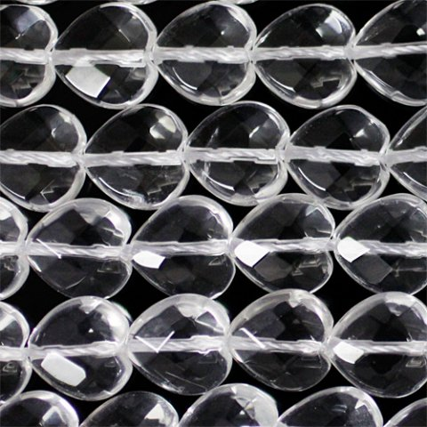水晶ハートカット4A‐8・10mm
