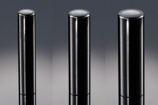 チタン印鑑 鏡面ブラック 印鑑セット 13.5mm 12mm 10.5mm