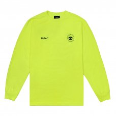 (Belief NYC) LOGISTICS L/S TEE - HIGHLIGHTER