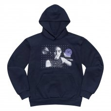 (DIVINITIES) SPARE PARTS EMBROIDERED PULLOVER - NAVY