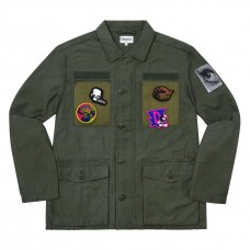 (DIVINITIES) PATCHES BDU JACKET - OLIVE