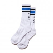(have a good time) LOGO ATHLETIC SOCKS - WHITE