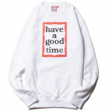 (have a good time) FRAME CREWNECK - WHITE