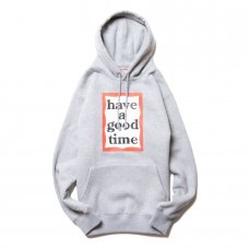 (have a good time) FRAME PULLOVER HOODIE - HEATHER GRAY
