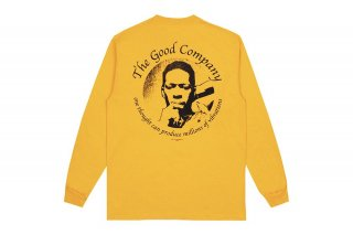 (The Good Company) VIBRATIONS LONG SLEEVE - GOLD/BLACK