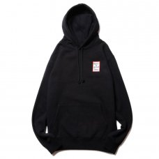 (have a good time) MINI FRAME PULLOVER HOODIE - BLACK