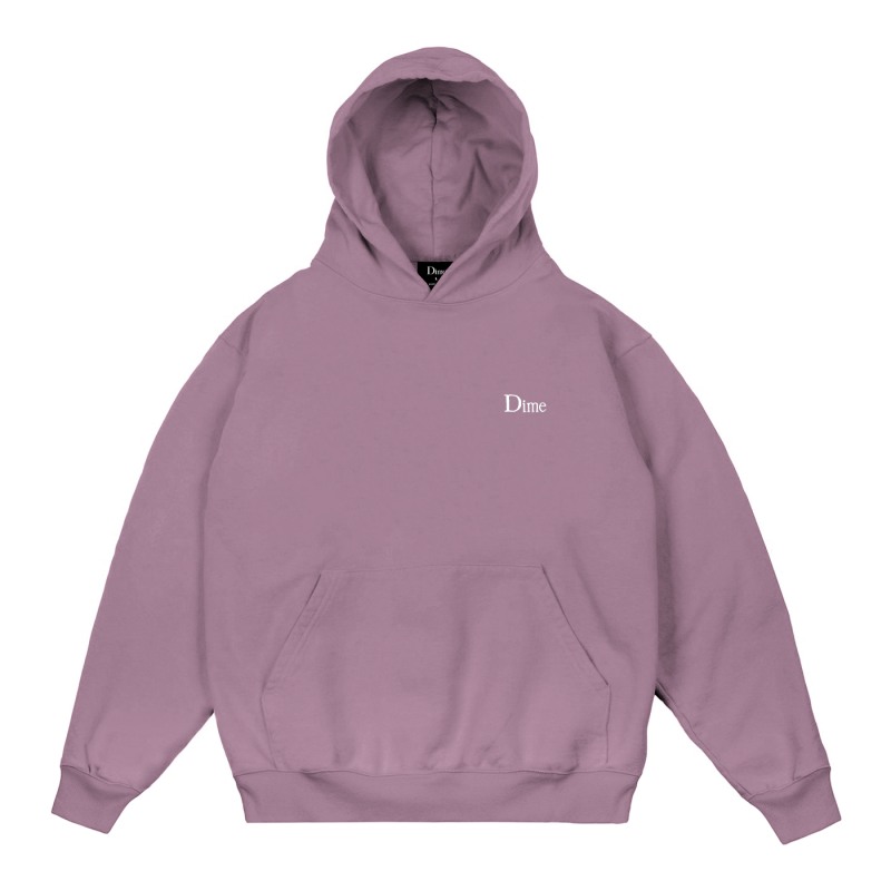 <img class='new_mark_img1' src='https://img.shop-pro.jp/img/new/icons5.gif' style='border:none;display:inline;margin:0px;padding:0px;width:auto;' />(Dime MTL) DIME CLASSIC SMALL LOGO HOODIE - MAUVE