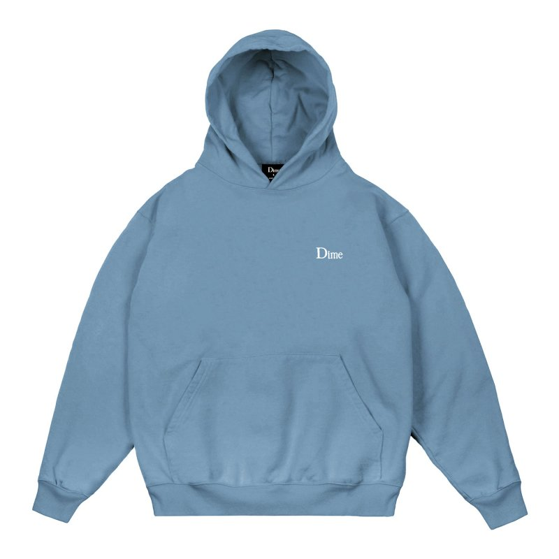 <img class='new_mark_img1' src='https://img.shop-pro.jp/img/new/icons5.gif' style='border:none;display:inline;margin:0px;padding:0px;width:auto;' />(Dime MTL) DIME CLASSIC SMALL LOGO HOODIE - SLATE