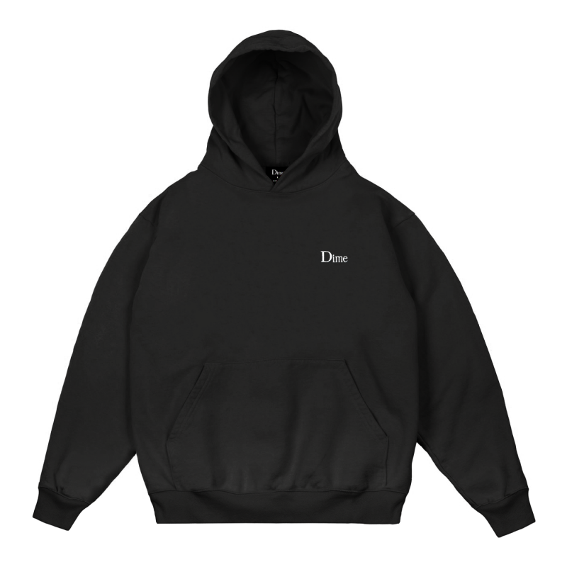 <img class='new_mark_img1' src='https://img.shop-pro.jp/img/new/icons5.gif' style='border:none;display:inline;margin:0px;padding:0px;width:auto;' />(Dime MTL) DIME CLASSIC SMALL LOGO HOODIE - BLACK