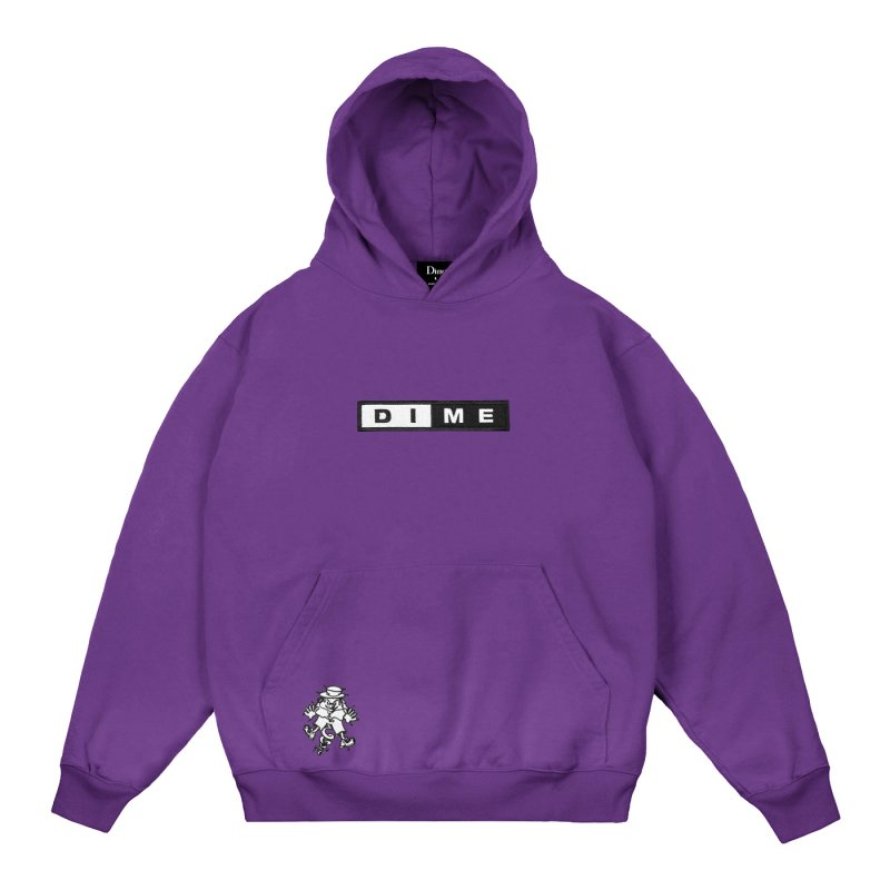<img class='new_mark_img1' src='https://img.shop-pro.jp/img/new/icons5.gif' style='border:none;display:inline;margin:0px;padding:0px;width:auto;' />(Dime MTL) SURPRISE HOODIE - PURPLE