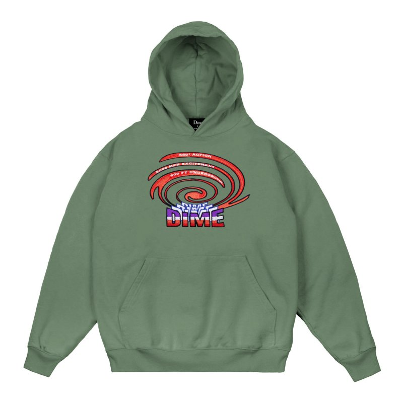 <img class='new_mark_img1' src='https://img.shop-pro.jp/img/new/icons5.gif' style='border:none;display:inline;margin:0px;padding:0px;width:auto;' />(Dime MTL) PSYCLONE HOODIE - OLIVE